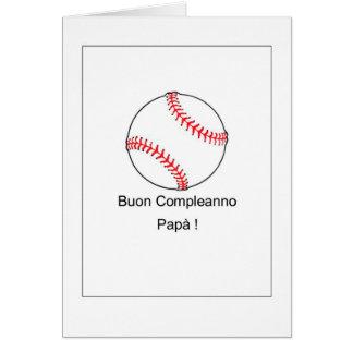 Buon Compleanno Papà - Italian Card