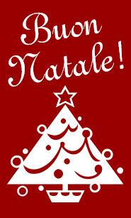Italian christmas cards zazzle uk buon natale christmas card italian xmas greeting m4hsunfo