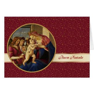 Buon Natale . Italian Fine Art Christmas Card
