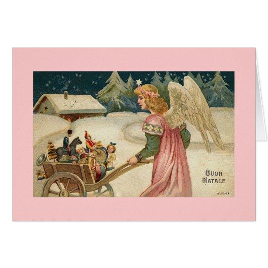 Buon Natale Italian Merry Christmas Card