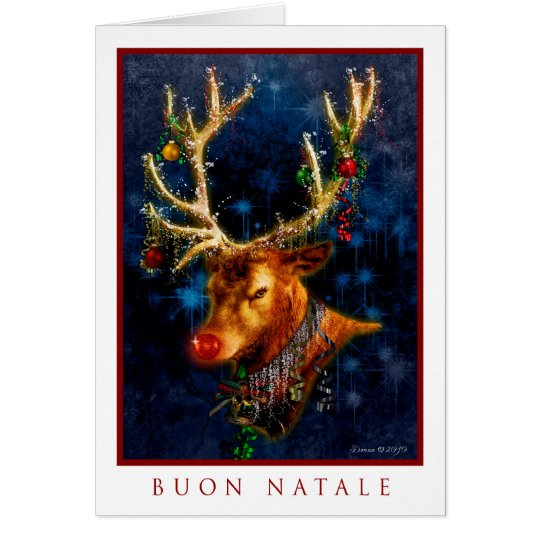 Buon Natale - Italian Merry Christmas Card