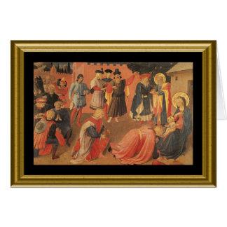 Buon natale - Lord's Prayer in Italian Card