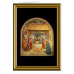 Buon natale - Lord's Prayer in Italian Greeting Card