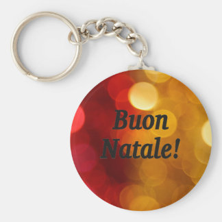Buon Natale! Merry Christmas in Italian bf Key Chains