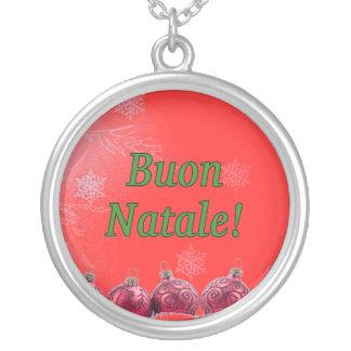 Buon Natale! Merry Christmas in Italian gf Custom Jewelry