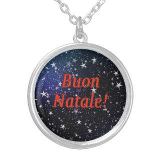 Buon Natale! Merry Christmas in Italian rf Custom Jewelry