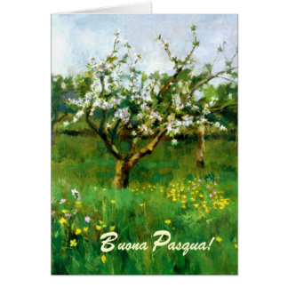 Italian religious easter gifts t shirts art posters other fine art italian easter card negle Image collections