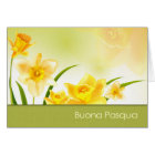 Buona Pasqua. Italian Easter Greeting Card