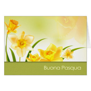 Italian easter greetings gifts gift ideas zazzle uk buona pasqua italian easter greeting card m4hsunfo