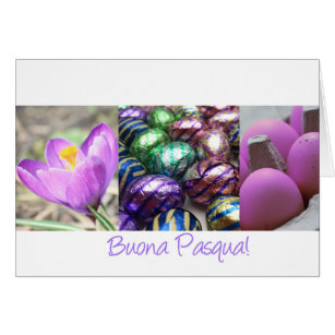 Italian easter greetings gifts gift ideas zazzle uk buona pasqua italian happy easter card m4hsunfo