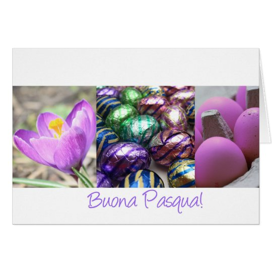 Buona Pasqua Italian Happy Easter Card