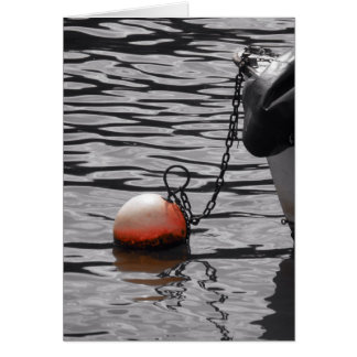 Buoy on the Thames Card