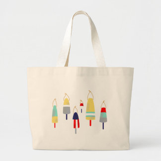 Buoys Large Tote Bag