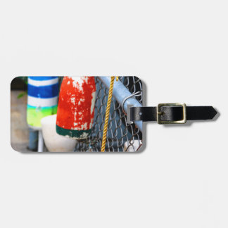 Buoys on the Fence Luggage Tag