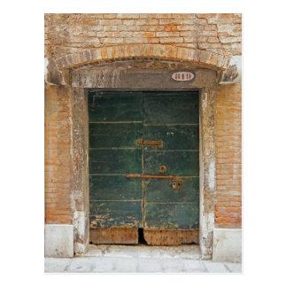 Burano Door Postcard