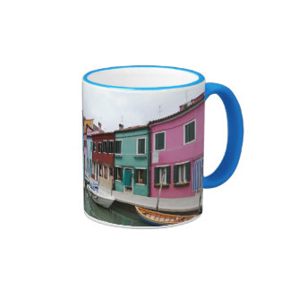 Burano in The Venetian Lagoon Ringer Mug