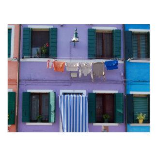Burano Island Postcard
