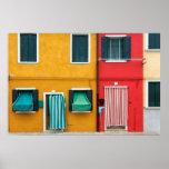 Burano Island,Venice Poster