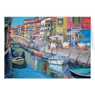 Burano, Italy - Card