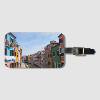 Burano, Italy Luggage Tag