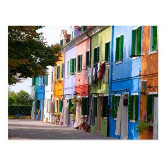 Burano-Venetia Postcard