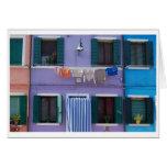 Burano, Venice Italy Greeting Card