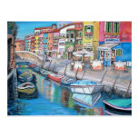 Burano, Venice - Postcard