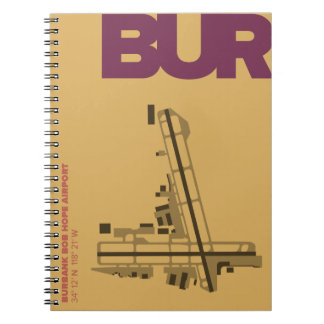 Burbank Bob Hope Airport (BUR) Diagram Notebook
