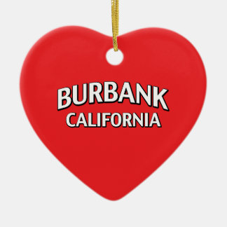 Burbank California Christmas Ornament