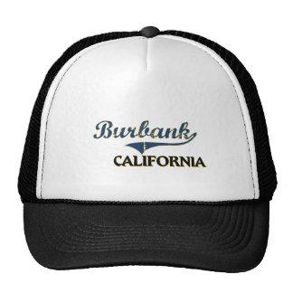 Burbank California City Classic Hats