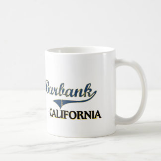 Burbank California City Classic Coffee Mug