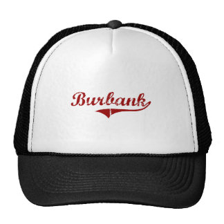 Burbank California Classic Design Hats