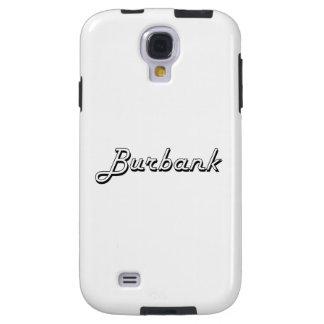 Burbank California Classic Retro Design Galaxy S4 Case