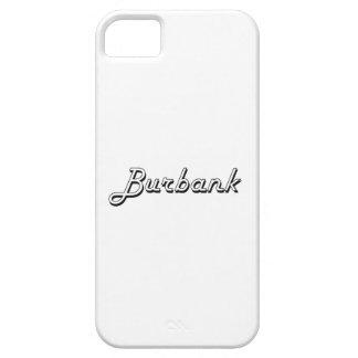 Burbank California Classic Retro Design iPhone 5 Cover