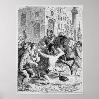 Burdett Riot, 1810 Poster
