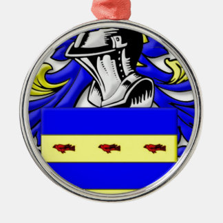 Burdette Coat of Arms Christmas Ornament