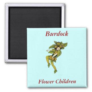 Burdock Square Magnet