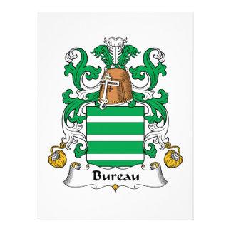 Bureau Family Crest Custom Announcement