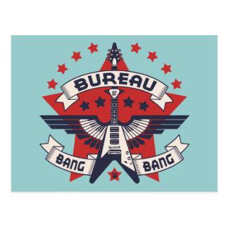 Bureau of Bang Bang Postcard