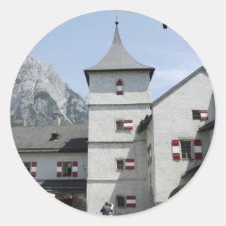 Burg Hohenwerfen Round Sticker
