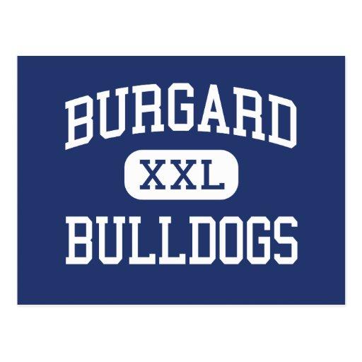 Burgard - Bulldogs - Vocational - Buffalo New York Postcards