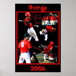 Burge Freshman Baseball Poster