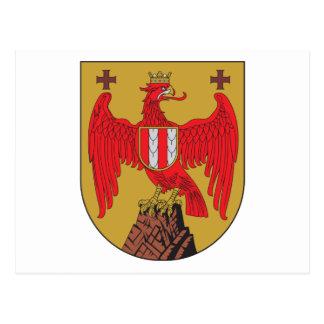 Burgenland Coat Of Arms Postcard