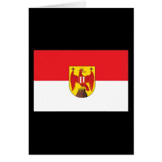 Burgenland Flag Greeting Card