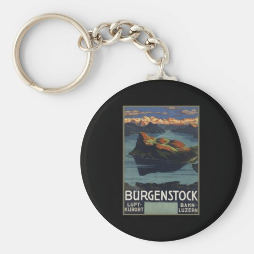 Burgenstock Key Chain