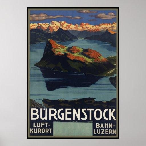 Burgenstock Poster