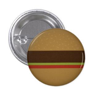 Burger 3 Cm Round Badge