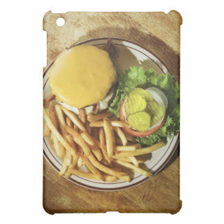 Burger and french fries iPad mini cases