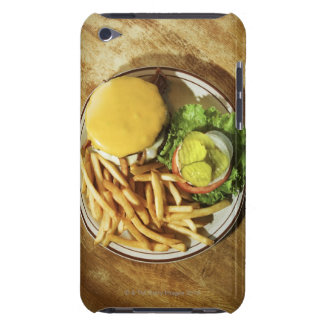 Burger and french fries iPod Case-Mate case