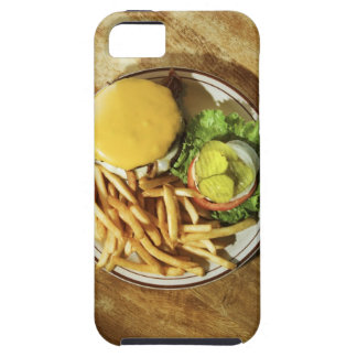 Burger and french fries tough iPhone 5 case
